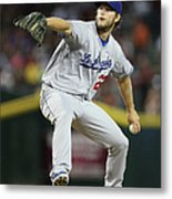 Clayton Kershaw Metal Print