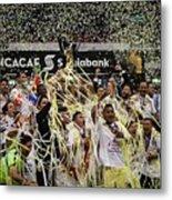 Club America vs Tigres - CONCACAF Champions League Final  Metal Print