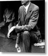 Connie Mack Metal Print