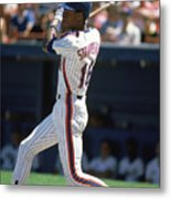 Darryl Strawberry Metal Print