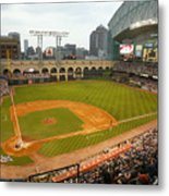 Florida Marlins v Houston Astros Metal Print