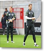 Germany - Training & Press Conference Metal Print