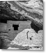 Gila Cliff Dwellings Metal Print