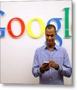 Google Opens New Berlin Office Metal Print