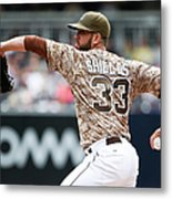 James Shields Metal Print
