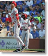 Joey Votto Metal Print