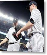 Kansas City Royals v New York Yankees Metal Print
