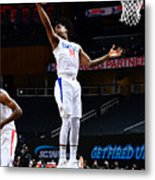 LA Clippers v Atlanta Hawks Metal Print