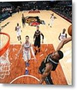 LA Clippers v Memphis Grizzlies Metal Print