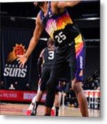 LA Clippers v Phoenix Suns Metal Print