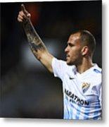 Malaga CF v Real Sociedad de Futbol - La Liga Metal Print