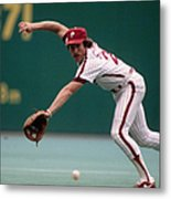 Mike Schmidt Metal Print