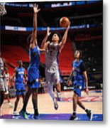 Orlando Magic v Detroit Pistons Metal Print