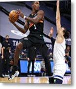 San Antonio Spurs v Minnesota Timberwolves Metal Print