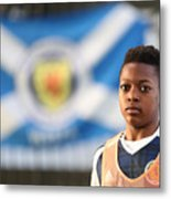 Scotland U16 v Northern Ireland U16 - Victory Shield Metal Print