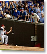 Stephen Piscotty Metal Print