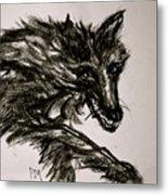 Timberwolf II Metal Print