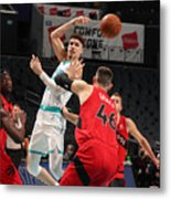 Toronto Raptors v Charlotte Hornets Metal Print