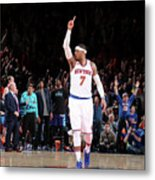 Carmelo Anthony Metal Print
