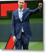Joe Mauer Metal Print