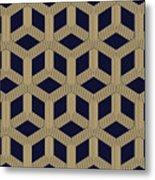 Seamless Geometric Pattern Metal Print