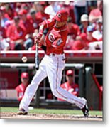 Billy Hamilton Metal Print