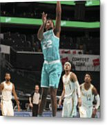Dallas Mavericks v Charlotte Hornets Metal Print