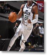 Dallas Mavericks v Utah Jazz Metal Print