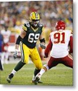 Kansas City Chiefs v Green Bay Packers Metal Print