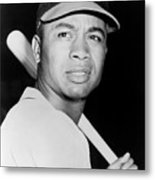 Larry Doby Metal Print