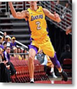 Lonzo Ball Metal Print