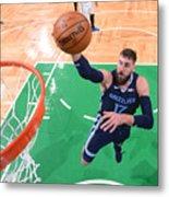 Memphis Grizzlies v Boston Celtics Metal Print