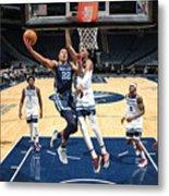 Memphis Grizzlies v Minnesota Timberwolves Metal Print