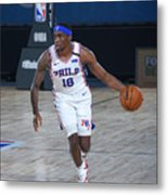 Memphis Grizzlies v Philadelphia 76ers Metal Print