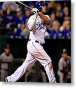 Mike Moustakas Metal Print