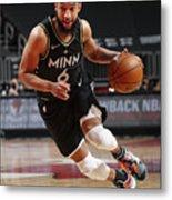 Minnesota Timberwolves v Chicago Bulls Metal Print