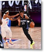Orlando Magic v Los Angeles Clippers Metal Print