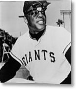 Willie Mays Metal Print