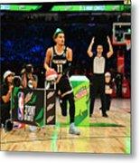 2020 NBA All-Star - MTN DEW 3-Point Contest Metal Print