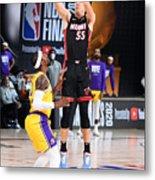 2020 NBA Finals - Los Angeles Lakers v Miami Heat Metal Print