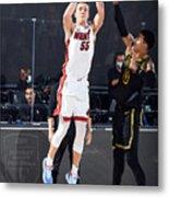 2020 NBA Finals - Miami Heat v Los Angeles Lakers Metal Print