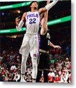 2021 NBA Playoffs - Philadelphia 76ers v Atlanta Hawks Metal Print