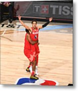 69th NBA All-Star Game Metal Print