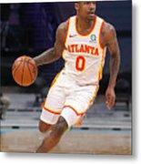 Atlanta Hawks v Charlotte Hornets Metal Print