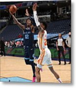 Atlanta Hawks v Memphis Grizzlies Metal Print