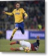 Bologna FC v Juventus - Serie A Metal Print