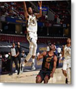 Indiana Pacers v Cleveland Cavaliers Metal Print