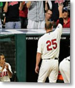 Jim Thome Metal Print
