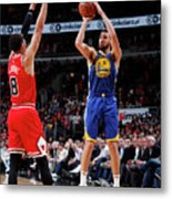 Klay Thompson Metal Print