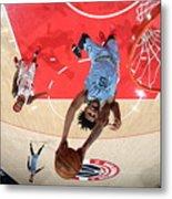 Memphis Grizzlies v Washington Wizards Metal Print
